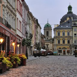 Romantic weekend in Lviv